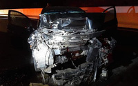 Ô tô lộn vòng trên cao tốc Hạ Long - Vân Đồn, tài xế tử vong tại chỗ