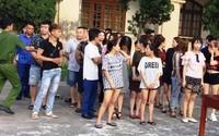 Ập vào quán karaoke, bắt quả tang 45 thanh niên nam, nữ đang 'bay' ma túy