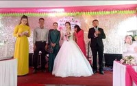 Xúc động đám cưới vắng chú rể của cô giáo mầm non với người lính biển