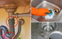 Tuyệt chiêu thông cống không tốn 1 xu, thợ sửa ống nước không bao giờ nói với bạn