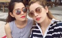 Chi Pu chia sẻ ảnh chị gái 'hơn tôi 11 tuổi mà trẻ và đẹp như vậy'
