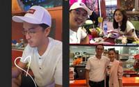 Vợ chồng Hà Tăng ''trốn con'' đi hẹn hò lãng mạn
