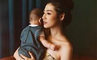 Á hậu Tú Anh: 'Một tháng sau sinh, ngày nào tôi cũng khóc'