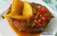 Bữa ăn đậm đà, nóng hổi cho chiều mưa mát mẻ, nồi cơm nấu đầy cũng hết bay