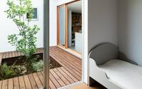 Nhà cấp 4 thiết kế cực tinh tế được xây giữa đồng lúa xanh, khung cảnh vừa đẹp vừa nên thơ