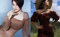 """Cùng diện một kiểu váy sexy, Bảo Anh hay """"gái hai con"""" Phạm Quỳnh Anh sẽ giành phần thắng?"""
