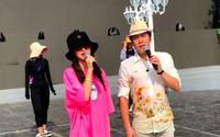 Angelababy và Huỳnh Hiểu Minh lạnh nhạt với nhau giữa ồn ào ly hôn