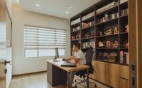 """Căn hộ 99 m2 theo phong cách tối giản của nhà văn """"Thất tình không sao"""""""