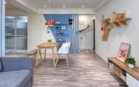 Ngắm mãi không chán căn hộ phong cách Retro có nội thất làm bằng chất liệu gỗ an toàn và không gây dị ứng.
