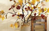 Không cần phải tốn tiền bạc hay công sức, với một chút sáng tạo là bạn có thể đem mùa thu đẹp dịu dàng vào nhà