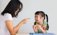 Hậu quả khi trẻ thường xuyên bị quát mắng