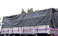 Ôtô tải lao vào 2 xe máy đang chờ sang đường, một người chết