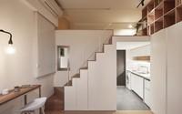 """Mẹo tối đa hóa không gian """"cực đỉnh"""" khiến căn hộ 22m² của cặp vợ chồng trẻ vẫn thoải mái sinh sống"""