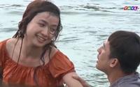 Anh Ba Khía - tập 17: Cặp đôi Lương Thế Thành và Lê Bê La lộ cảnh tắm sông ướt át 'đốt mắt' người xem