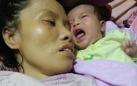 """Nỗi đau của người mẹ nằm liệt sau sinh nhìn con thơ phải sống nhờ nguồn sữa của """"người lạ"""""""