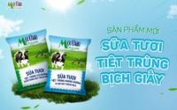 Bổ sung dinh dưỡng nhưng vẫn tiết kiệm với Sữa tươi tiệt trùng bịch giấy Mộc Châu Milk