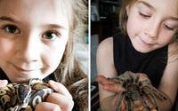Kỳ quặc bé gái nuôi 50 con nhện, rắn, bọ cạp trong phòng ngủ