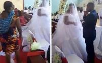 Địu con đại náo đám cưới của chồng với nhân tình