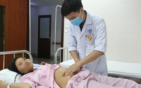 Khối viêm nhiễm có mủ trong buồng trứng bệnh nhân