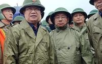 Phó Thủ tướng Trịnh Đình Dũng trực tiếp kiểm tra hồ Kẻ Gỗ (Hà Tĩnh)