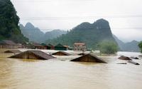 Thông tin mới nhất về tình hình mưa lũ ở Quảng Bình, Hà Tĩnh