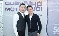 """Diễn viên Việt Anh hội ngộ ca sĩ Tuấn Hiệp trong lễ ra mắt MV """"Quên nhớ một người"""""""