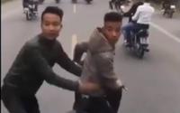 Hé lộ danh tính nhóm thanh niên chặn đầu xe ô tô chở tân binh nhập ngũ ở Hải Dương