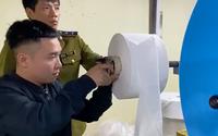 Quản lý thị trường đề nghị công an điều tra vụ sản xuất khẩu trang bằng... giấy toilet