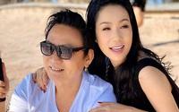 Trịnh Kim Chi quấn quýt chồng đại gia