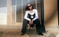 Đỗ Mỹ Linh chụp ảnh high fashion