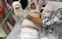 """Bố bé 6 tuổi bị dì ruột tẩm xăng đốt: """"Cháu rất quý dì Phượng, suốt ngày mẹ Phượng, mẹ Phượng"""""""