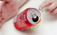 Uống nước ngọt xong nhiều người thường vứt lon đi mà không hề biết rằng có một phần của lon cực kì hữu ích