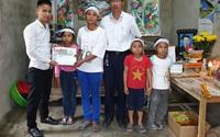 Gần 43 triệu đồng đến với hoàn cảnh 4 đứa trẻ mất bố khi cận Tết, mẹ đang bị bệnh nặng