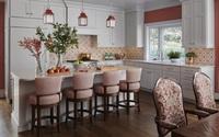 Một bộ ghế sắc màu cho căn bếp gia đình thêm xinh khiến tim ai cũng phải rung rinh