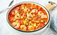 Nấu cà chua với tôm quá bình thường, thêm nguyên liệu này vị ngon tăng lên gấp bội