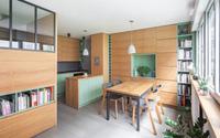 Căn hộ 30m² tạo ấn tượng đặc biệt với nội thất đa năng cùng ánh sáng tự nhiên ngập tràn