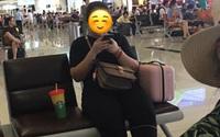 Xin ngồi kế bên trong phòng chờ sân bay, cô gái khước từ nhưng câu nói thiếu văn hóa sau đó mới là điều khiến nhiều người bức xúc