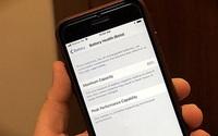 iPhone chạy chậm, nhanh hết pin, phải làm gì?
