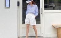 Kiểu quần short tưởng chỉ mặc đi chơi nhưng nếu biết cách chọn và mix đồ, nàng công sở sẽ vừa trẻ trung vừa sành điệu hết nấc