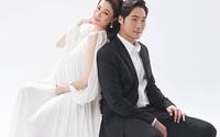 Pha Lê bế bầu chụp ảnh cưới cùng chồng Mỹ gốc Hàn