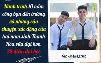 Hành trình 10 năm cõng bạn đến trường và những câu chuyện xúc động của hai nam sinh Thanh Hóa vừa đạt hơn 28 điểm đại học