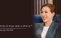 """Hoa hậu Thu Hoài: """"Đồ hiệu rất dễ gây nghiện và lây lan"""""""