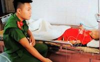 Thiếu úy công an hiến máu cứu cậu bé người Mông ngã dập vỡ gan