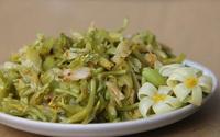 Lạ đời thứ hoa hái để bỏ đi từ loài cây ăn quả, lên món ăn lại thành thứ gây nghiện