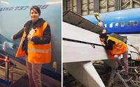 Trúng 'sét ái tình', người phụ nữ quyết định kết hôn với máy bay Boeing 737