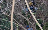 Chữa cháy trên núi Minh Đạm, phát hiện thi thể trương phình