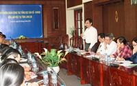 Phó Tổng Cục trưởng Lê Cảnh Nhạc thăm và làm việc tại 3 tỉnh Tây Nam bộ