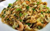 Món ăn từ tôm, tép bổ thận tráng dương