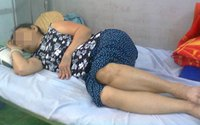 Cụ bà 76 tuổi mang thai đá: Việc mổ sẽ tốn thời gian, khó khăn