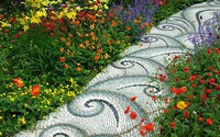 Những sân vườn lát sỏi tuyệt đẹp